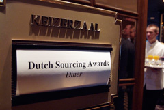Dutch Sourcing Awards Diner in de Keizerzaal te Huis ter Duin Scheveningen